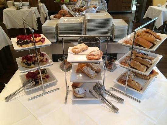 Hotel Ambassador: breakfast choices