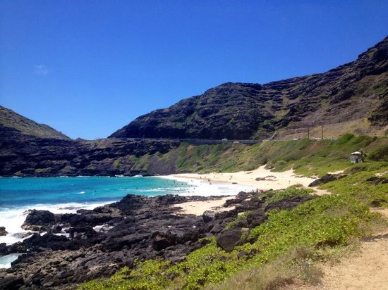 Makapu'u Beach: View from near the parking lot