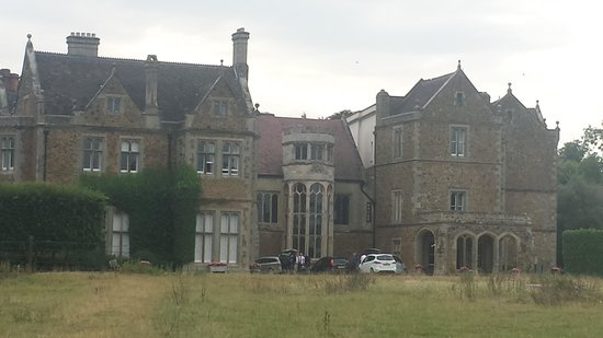 Fawsley Hall Hotel & Spa: Front view of the hotel