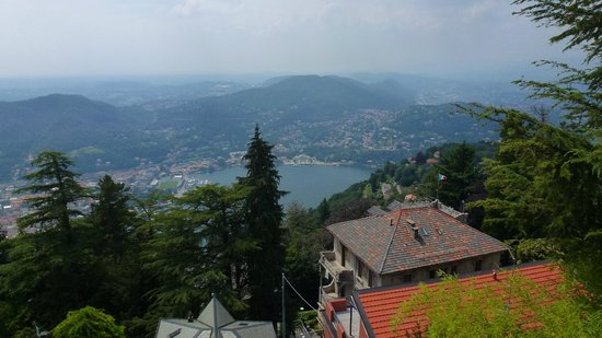 Bellavista Boutique Hotel: View of Lake Como
