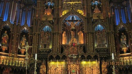 Basilique Notre-Dame de Montréal : Main Altar