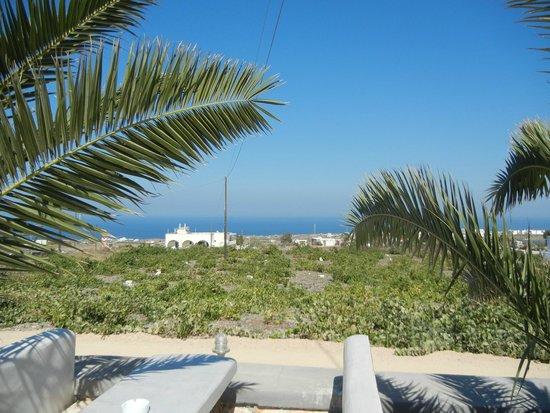 Koronios Villa: vista dal giardino