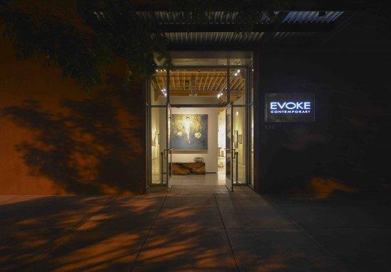Evoke Contemporary: Front door