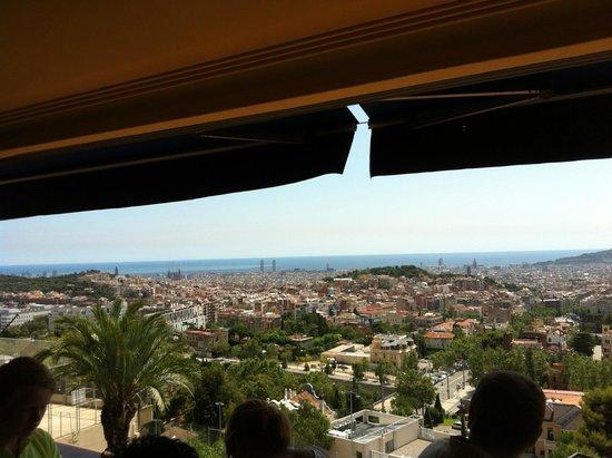Hotel Condestable: Вид на Барселону