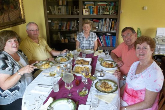 My Personal Budapest - Tours: Dinner at the home of Andras's parents.