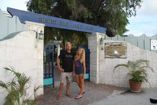 Bimini Big Game Club Resort & Marina: Entrance to the hotel