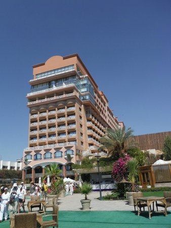 Sonesta St. George Hotel Luxor: HOTEL DA LONTANO