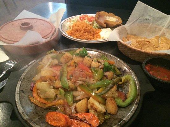 Taxco Restaurant: Vegetarian fajitas