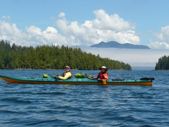 Majestic Ocean Kayaking: Our double kayak