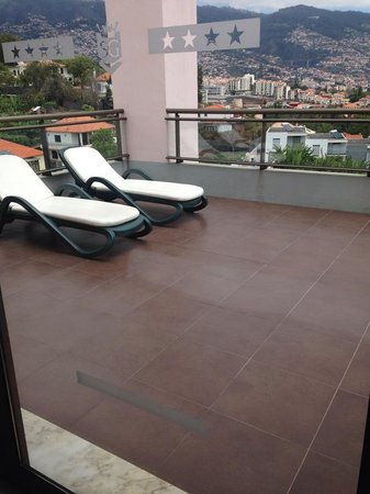 TUI SENSIMAR Savoy Gardens: private terrace