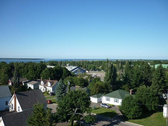 Hotel Shediac : View from the top floor balcony