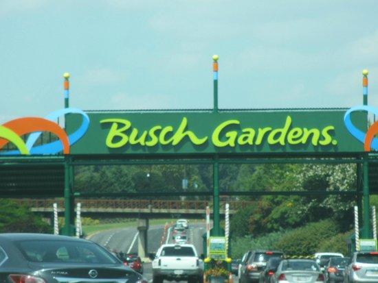 Welcome - Picture of Busch Gardens Williamsburg, Williamsburg ...