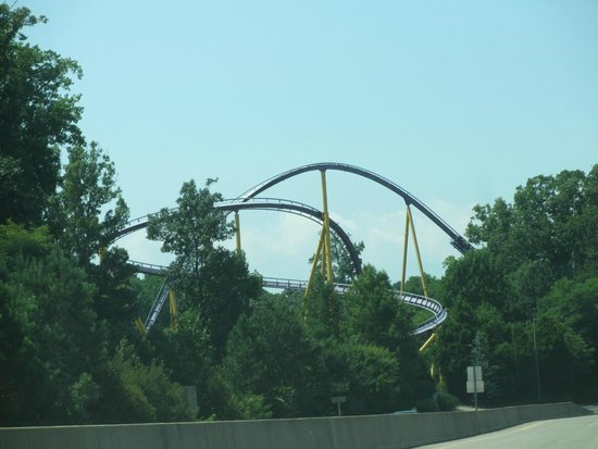 View from road - Picture of Busch Gardens Williamsburg, Williamsburg ...