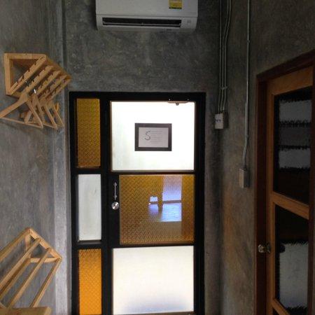 The Picturebook Guesthouse: door and hangers