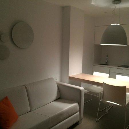 Ibiza Sun Apartments: Kitchen area