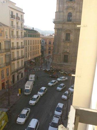 AC Hotel Malaga Palacio : Vista desde balcón de mi habitación en la quinta planta
