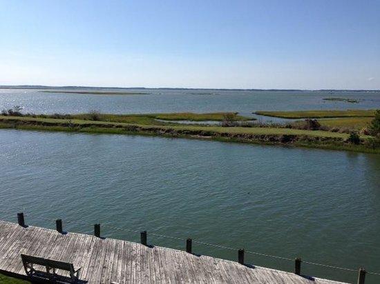 Island Motor Inn Resort: view from room 154