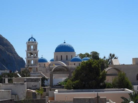 Aretousa Villas: view from the balcony