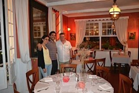 Restaurant la Roquebrunoise : Avec le chef