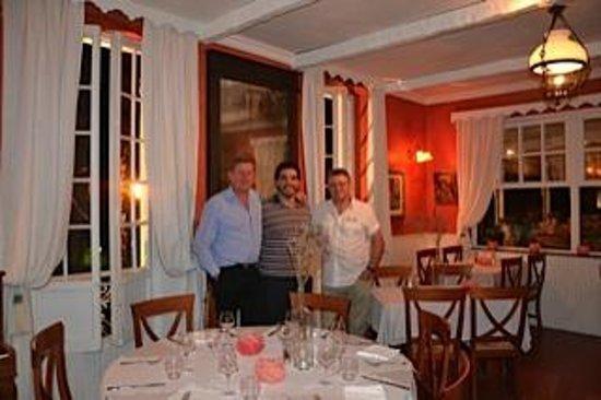 Restaurant la Roquebrunoise : Avec le chef et le gérant