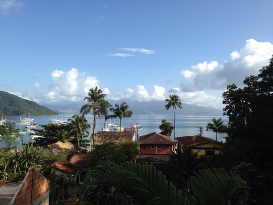 Pousada Tagomago Beach Lodge: View from the balcony!