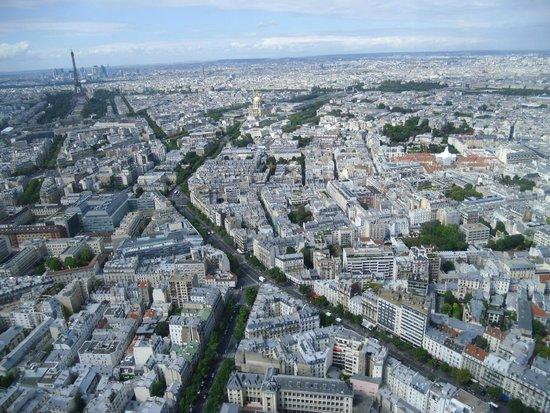 Observatoire Panoramique de la Tour Montparnasse: Photo prise au 56° étage