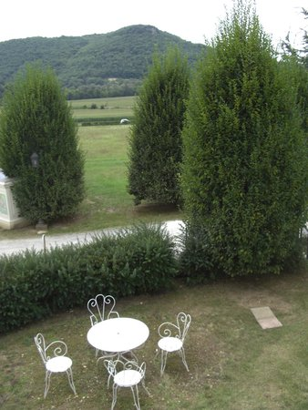 Chateau de Monrecour: View from the family room