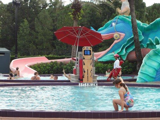 Disney's Port Orleans Resort - French Quarter: Water Slide