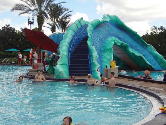 Disney's Port Orleans Resort - French Quarter: Pool/Water Slide