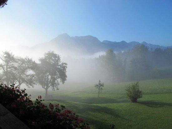 Alpenhotel Hundsreitlehen: mattina presto