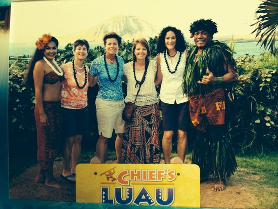 Chief's Luau : Hanging with the Chief. :)