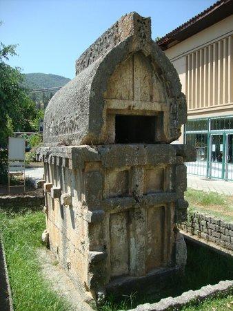 Downtown Fethiye: Ликийский саркофаг