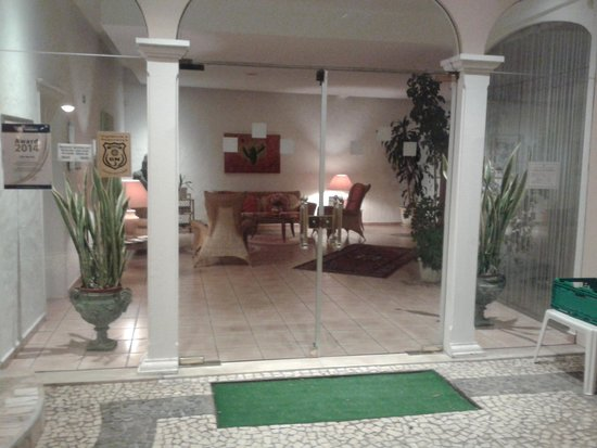 Hotel Villa Opuntia: Entrée principale