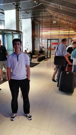 Hyatt Times Square New York: lobby, T45 diner
