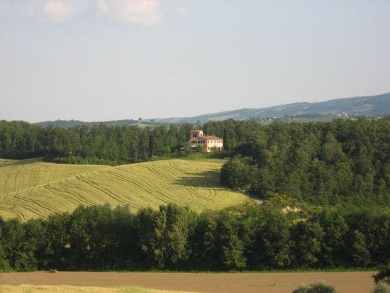 Agriturismo Palazzo Bello e Chieteno: Vista panoramica di Chieteno