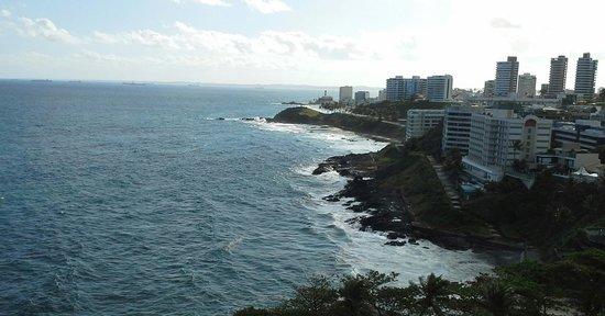 Bahia Othon Palace : vista do quarto 1019
