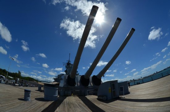 Battleship Missouri Memorial: Mighty Guns