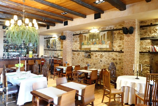 Palea Poli Hotel : restaurant