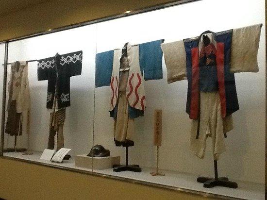 Takayama Festival Floats Exhibition Hall: Costumes