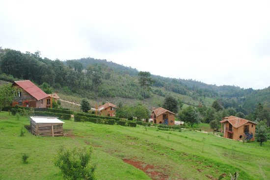 Cabanas Sergia Torres: Vista desde las cabañas