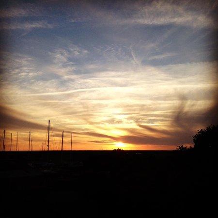 Le Domaine du Meunier : Uitzicht vanuit de Silo