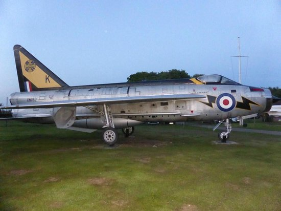 Thorpe Camp Visitor Centre: English Electric Lightning