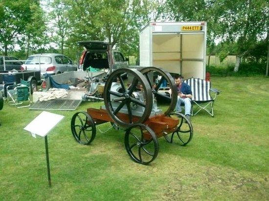 Thorpe Camp Visitor Centre: Oil Engine club visit