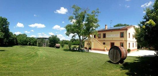 Passo di Treia, Itália: Ristorante Podere Catignano