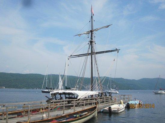 Lake Champlain Maritime Museum: Gunboat Replica