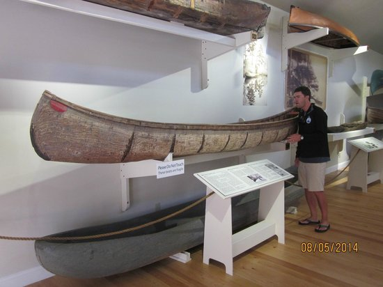 Lake Champlain Maritime Museum: Great exhibit on canoes, skiffs, & sailboats