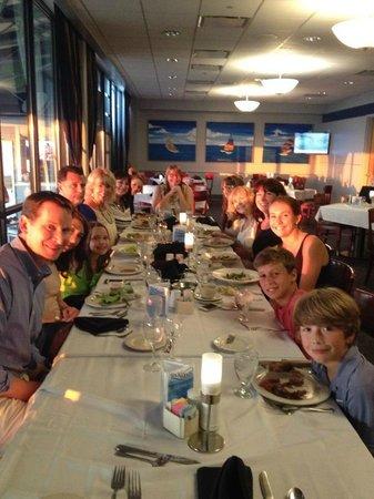 Tradewinds Restaurant Family Dinner
