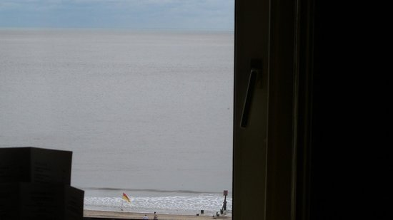 The Hotel Victoria: Looking out over the sea