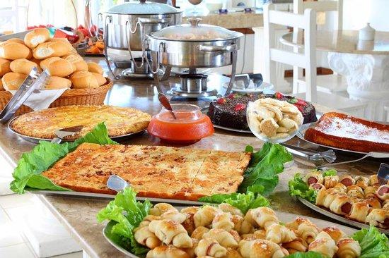 Benkos Praia Hotel: Café da Manhã