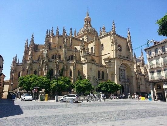 Catedral de Segovia: Vista exterior